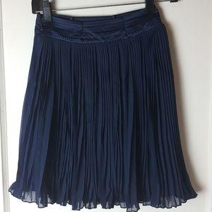 Girls Blue Skirt Size 10/12